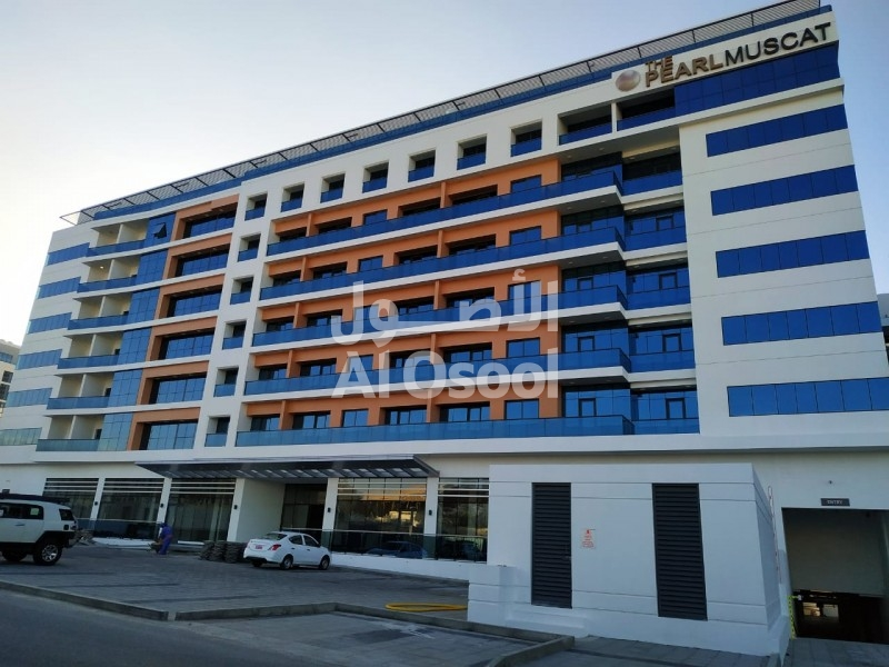 The Pearl Muscat - 2 Bedroom Flat for sale- R.O 94,000